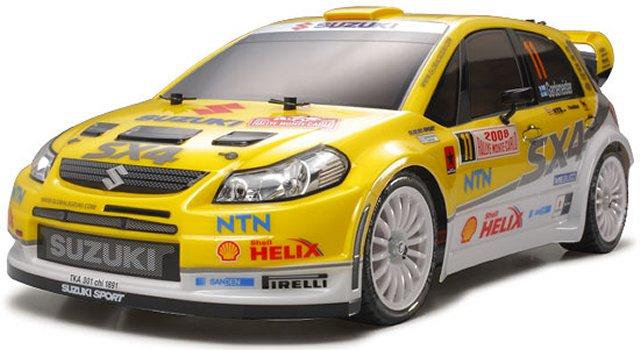 Tamiya Suzuki-SX4-WRC