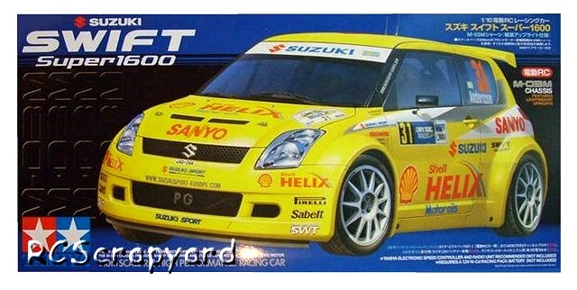 Tamiya Suzuki Swift Super 1600 - #58368 M-03M