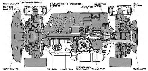 Tamiya TG10 Mk1 Chassis