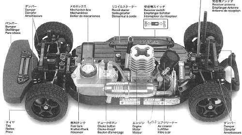 Tamiya TGS-R Chassis