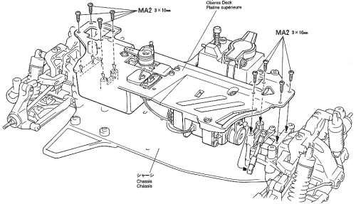 Tamiya TGX Mk1 TRF Special Chassis