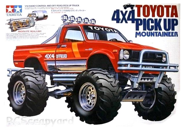 Tamiya Toyota 4x4 Pick Up Mountaineer - #58111