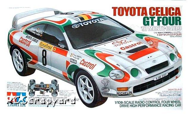 Tamiya Toyota Celica GT-Four 97 Monte Carlo - #58201 TL-01