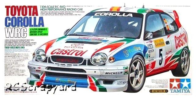 Tamiya Toyota Corolla WRC - #58218 TA03F-S