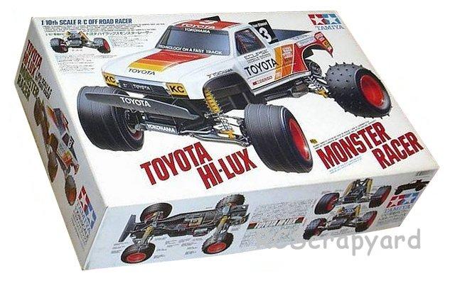 Tamiya Toyota Hilux Monster Racer - #58086