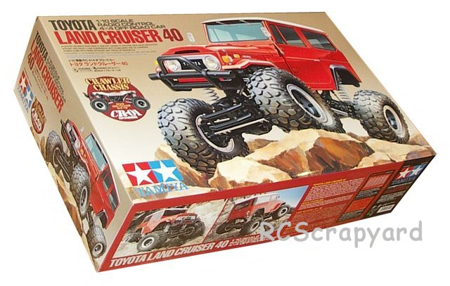 Tamiya Toyota Land Cruiser 40 - #58405 CR-01