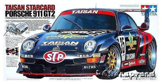 Tamiya Taisan Starcard Porsche 911 GT2 - #58172 TA02SW