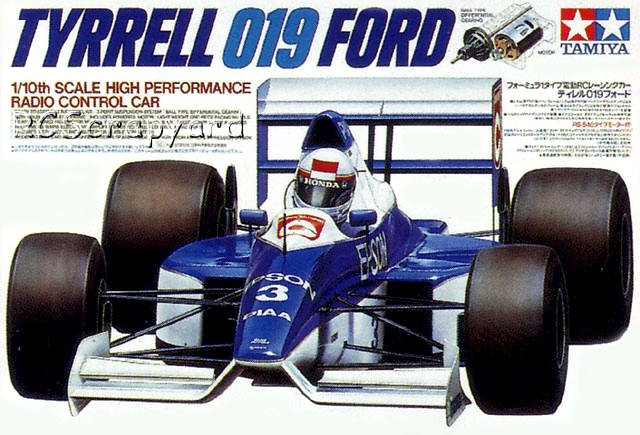 Tamiya Tyrrell-019-Ford - #58090 F101