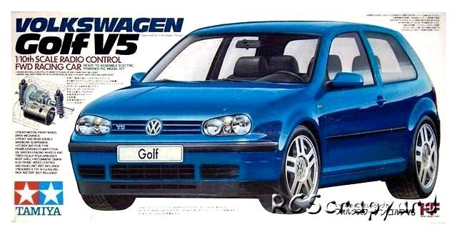 Tamiya Volkswagen Golf V5 - #58206 FF01