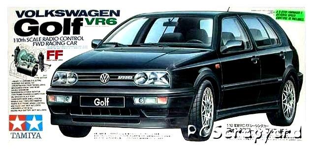 Tamiya Volkswagen Golf VR6 - #58162 FF01