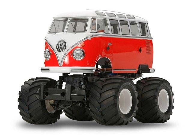 Tamiya Volkswagen Type 2 Wheelie (T1) - #58512 - 1:12 Electric Monster Truck