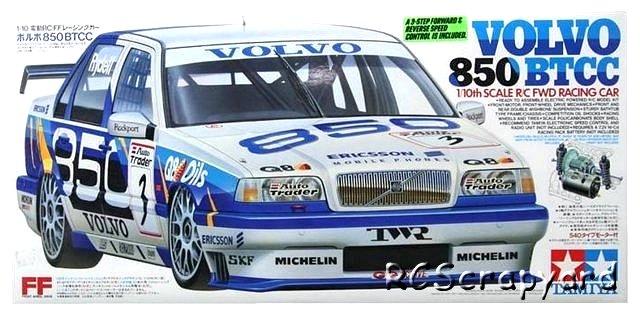 58183 Tamiya Volvo 850 Btcc Ff 01 Radio Controlled Model