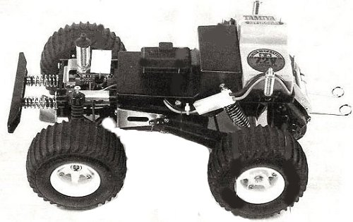 Tamiya Wild Willy, Willy's M38 #58035 Chassis