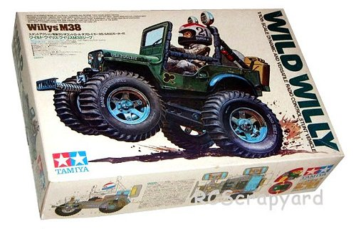 Tamiya Wild Willy, Willy's M38 #58035 Box