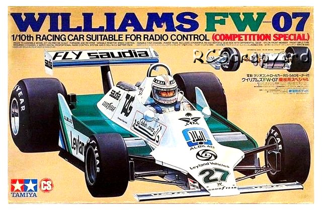 Tamiya Williams FW-07 - #58019