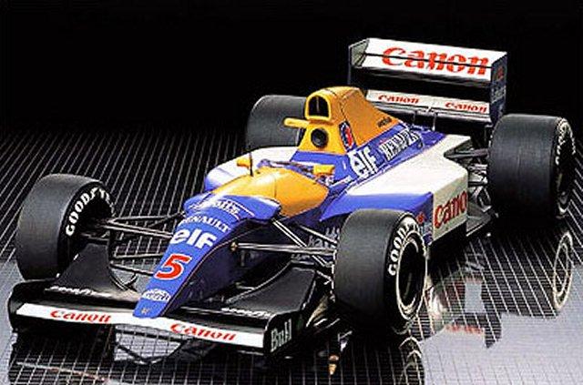 Tamiya Williams-FW14-Renault - #58105 F102