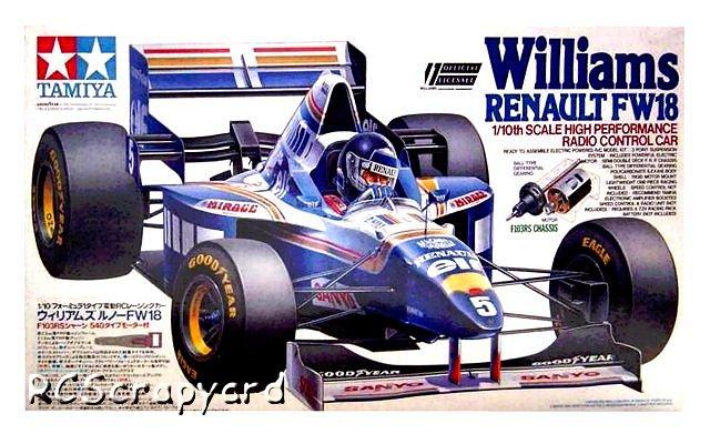 Tamiya Williams-Renault-FW18 - #58179 F103RS
