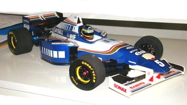 Tamiya Williams-Renault-FW18