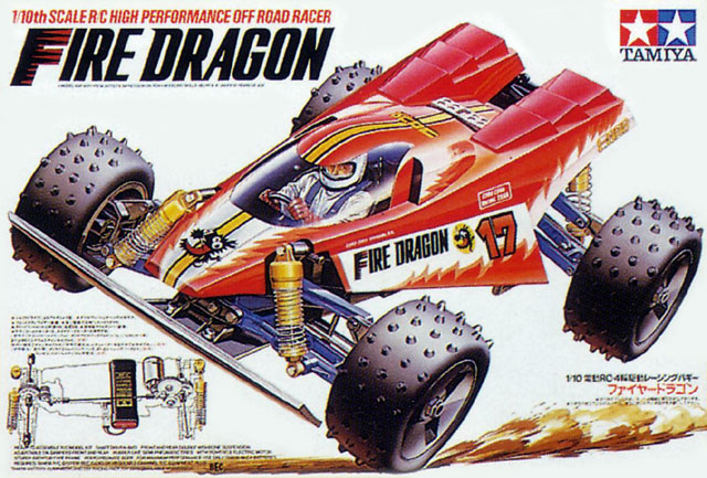 Tamiya Fire Dragon - #58078