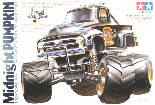 Tamiya Midnight Pumpkin - #58070 - 1:12 Electric RC Monster Truck