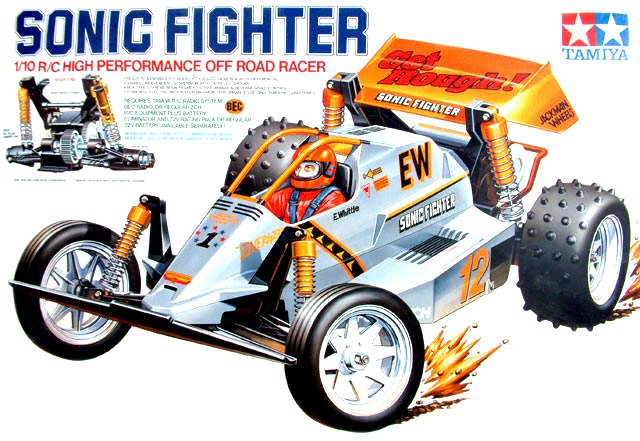 Tamiya Sonic Fighter - #58071