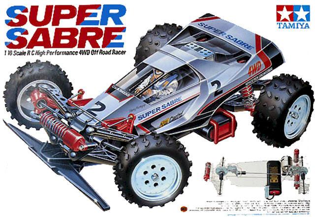 Tamiya Super Sabre - #58066
