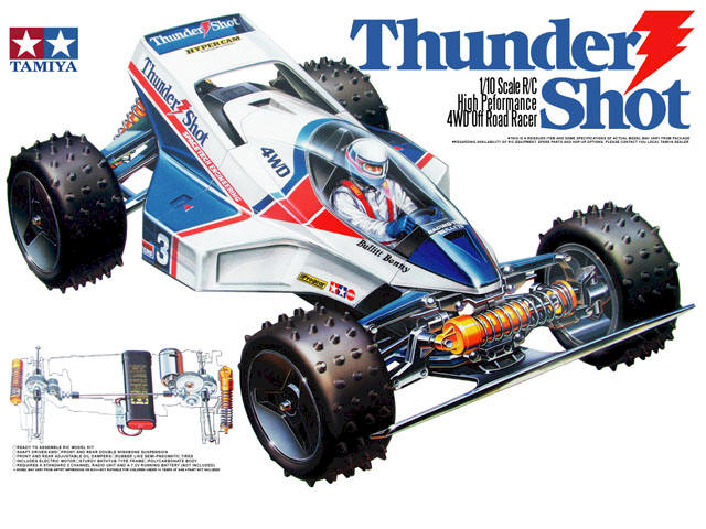 Tamiya Thunder Shot -  #58067