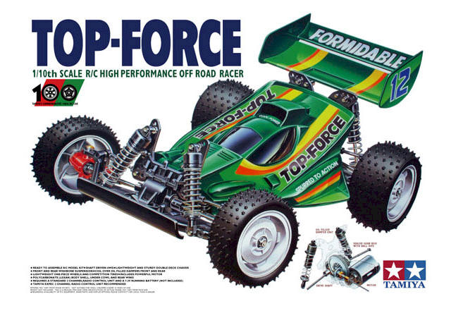 Tamiya Top Force - #58100 DF-01