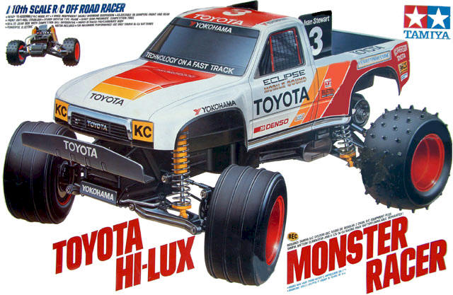 Tamiya Toyota Hilux Monster Racer