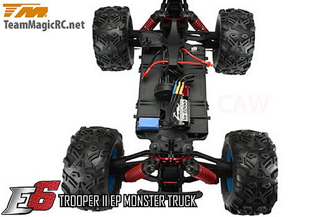 Team Magic E6 Trooper II Chassis - 1:8 Electric Monster Truck