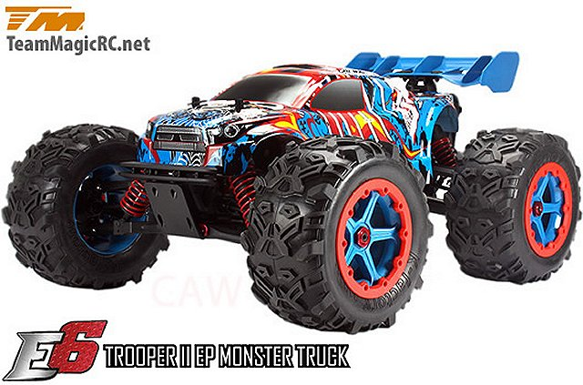 Team Magic E6 Trooper II - 1:8 Electric Monster Truck