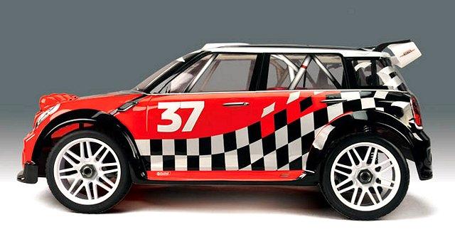 Thunder-Tiger EB-4 S2.5 Rally Game - 1:8 Nitro WRC Car