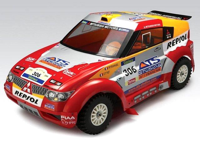 Thunder-Tiger ER-1 Sport - 1:8 Nitro RC Rally Car