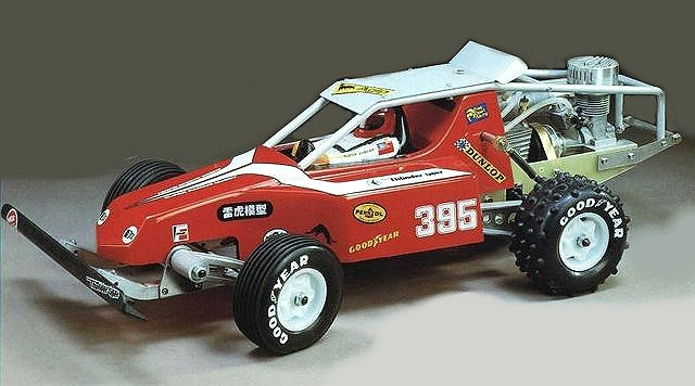 Thunder Tiger Jaguar - Vintage 1:8 Nitro RC Buggy