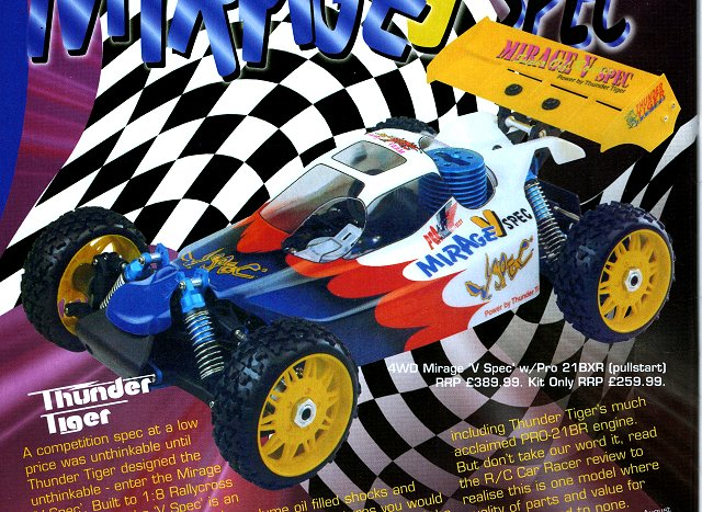 Thunder-Tiger Mirage V-Spec - 1:8 Nitro RC Buggy