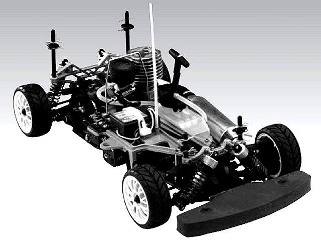 Thunder-Tiger TS-4n Pro V2 - 1:10 Nitro RC Touring Car