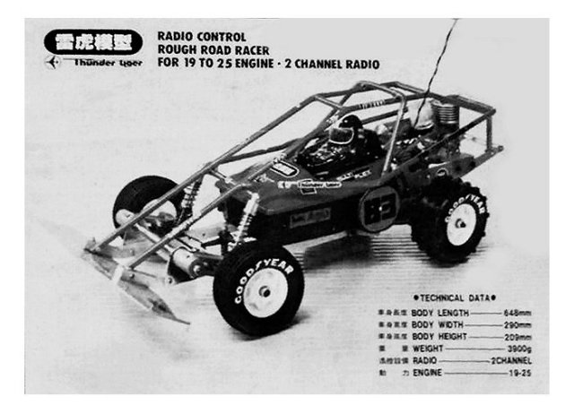 Thunder Tiger The Challenger 83 - Vintage 1:8 Nitro RC Buggy