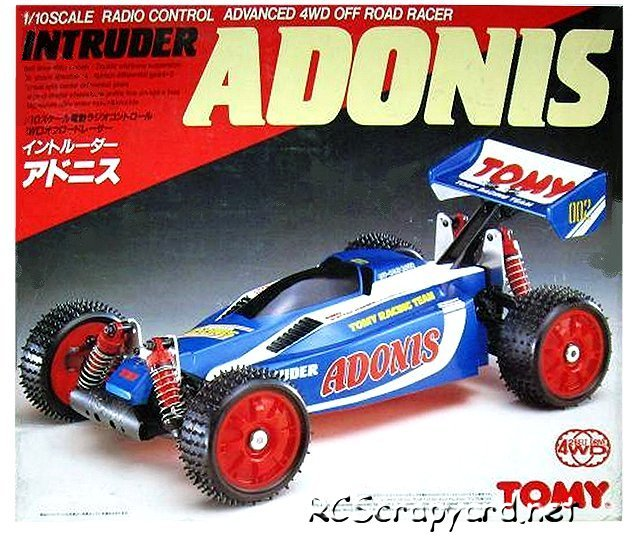 Tomy Adonis - Vintage 1:10 Electric RC Buggy