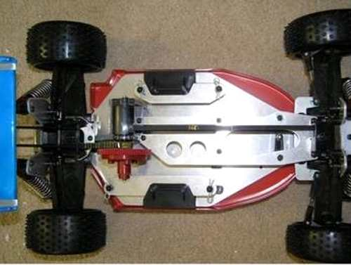 Tomy Intruder Adonis Chassis