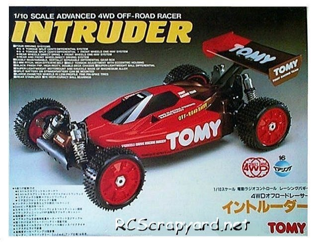 Tomy Intruder - Vintage 1:10 Electric RC Buggy