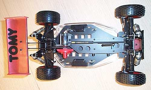 Tomy Intruder Chassis