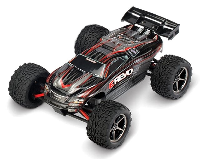 Traxxas 1/16 E-Revo Brushed - Electric RC Monster Truck