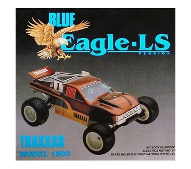 Traxxas Blue-Eagle-LS - 1:10 Electric RC Truck