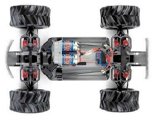 Traxxas E-Maxx 3905 - 3903 Chassis