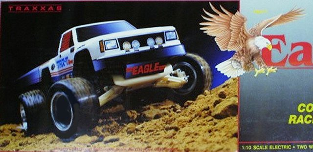 Traxxas Eagle - 1:10 Electric RC Truck