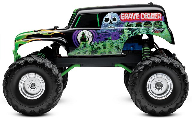 Traxxas Grave Digger - 1/10 Electric RC Monster Jam Truck
