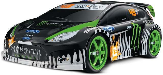 Traxxas Ken Block Gymkhana Fiesta - 1:16 Electric RC Touring Car