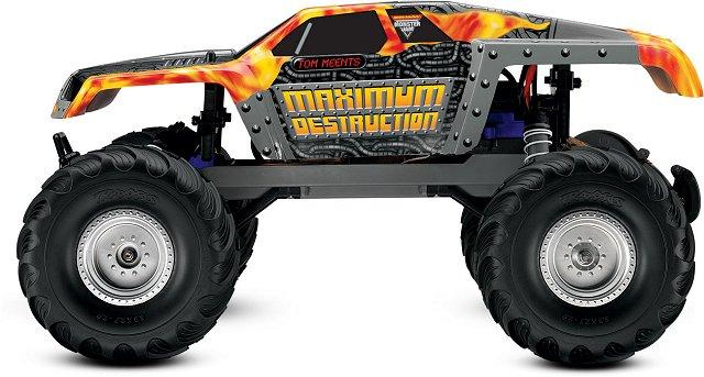 Traxxas Maximum Destruction - 1/10 Electric RC Monster Jam Truck