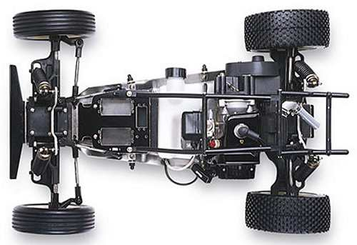 Traxxas Monster Buggy Chassis