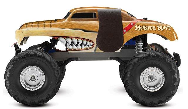 Traxxas Monster Mutt - 1/10 Electric RC Monster Jam Truck